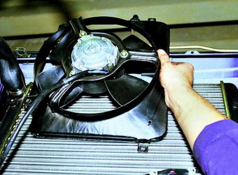 Поломки узла вентилятора