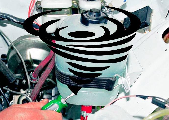 Воздух в системе охлаждения