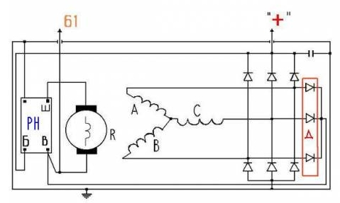 Схема генератора 37.3701